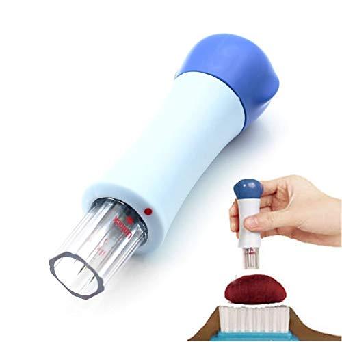 HeroNeo® 1PC Needle Felting Handle Holder With 7 Needles Wool Needle Felting Tools New