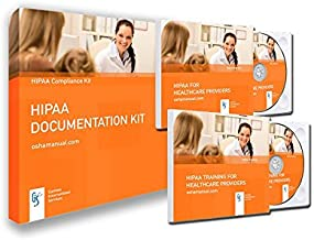2019 HIPAA Training Package for Medical and Dental Offices Including mandated HIPAA Policies and Patient Forms (hardcopy and CD) + Training CD and Test + Resource CD + Posters