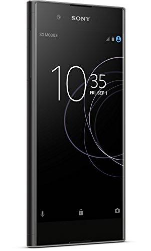 Sony Xperia XA1 Plus Smartphone (14 cm (5,5 Zoll)Bildschirm, 32 GB Speicher, Android 7.0) Schwarz