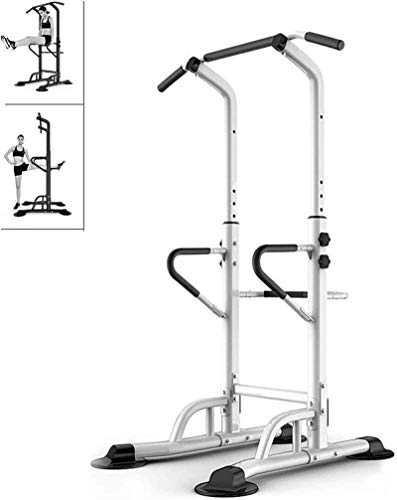 YLJYJ Upright Exercise Bikes Fitness Home Horizontal Bar Sports Equ Indoor Pull-up Equ Parallel Bar Height Stable Equ spin bikection Home Spinning bikebic (Color : White, Size : 90x97x230cm)