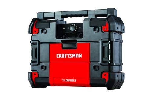 CRAFTSMAN VersaStack Water Resistant Cordless Jobsite Radio/Charger