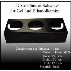 Socle en Métal Noir / Diamètre des ouvertures: 10cm / Couleur: Noir