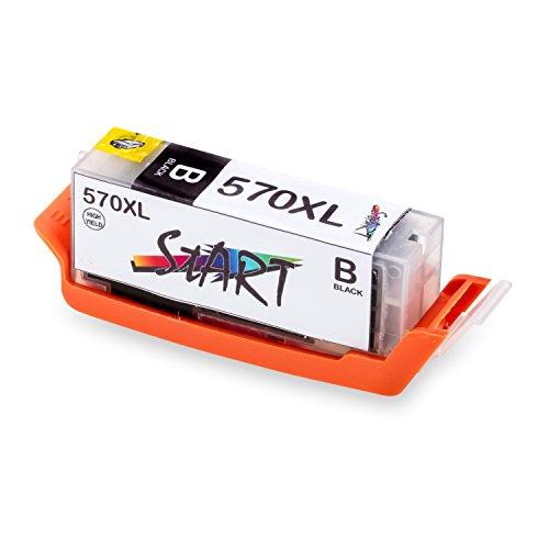 Start - XL Compatible Chip Cartuccia per Canon PGI-570 BK XL Nero