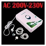 YANGYUAN Ozono Generador Ozonator Máquina Esterilizante Aire Ozono Purificador Purificación Fruta Verduras Agua Alimentos Preparación ionizador (Color : AC220V)