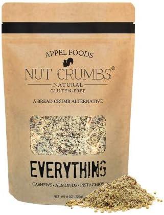 Appel Foods Nut Crumbs Bread Crumb Alternative Gluten Free Sugar Free Low Carb Low Sodium Raw product image