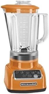 KitchenAid RKSB1570TG 5-Speed Blender with 56-Ounce BPA-Free Pitcher - Tangerine (Renewed)