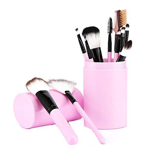 WeiMay Sets de Pinceaux de Maquillage Kit de Brosse de Maquillage Pinceaux de Maquillage Cosmetics Professional Essential 12 pcs