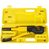 Happybuy Hydraulic Rebar Cutter 1/4' - 3/4' / 4 mm - 20mm,Concrete Construction Tool 12Ton,Handheld Rebar Cutter G-20 w/Box,Steel Bolt Chain Cutting tool