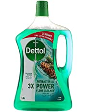 Dettol Pine Antibacterial Power Floor Cleaner 1.8L