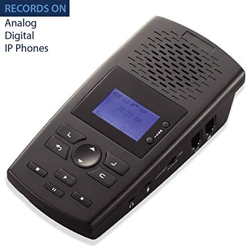 RecorderGear TR600 الثابت مسجل مكالمة هاتفية لالتناظرية
