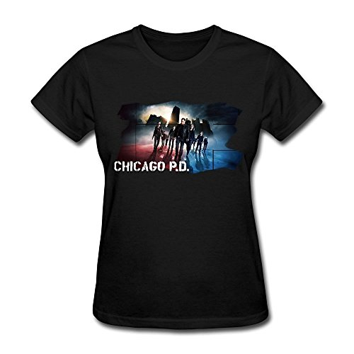 Femme's Chicago PD T Shirt Medium