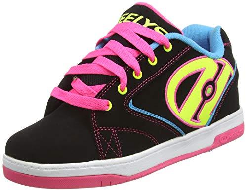 HEELYS Propel 2.0 770512 - Zapatos una rueda para niñas, Negro (Black / Neon Multi), 33 EU