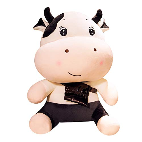 NXYJD Plüsch Kuh Spielzeug Nettes Vieh Plüsch Kuscheltiere Vieh Weiche Puppe Kinderspielzeug Geburtstagsgeschenk für KinderGröße: 30, 40, 50, 60 cm. Plüsch Kuh Spielzeug Nettes Vieh Plüsch Kuscheltier