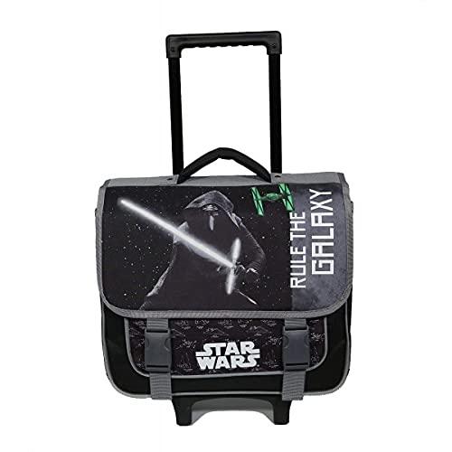 Cartable à roulettes 38 cm Star Wars Noir et Gris Bagtrotter