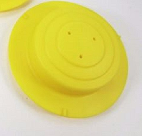 Replacement Yellow Spring Cap Dome Cover Leg Part for Evenflo ExerSaucer
