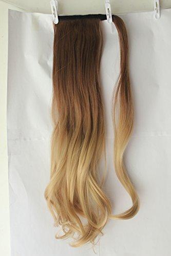 Extensión de pelo ondulado con clip de 50