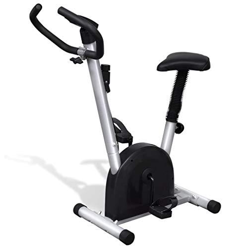 mewmewcat Bicicleta estática con sillín 92,5 x 49 x 106 cm