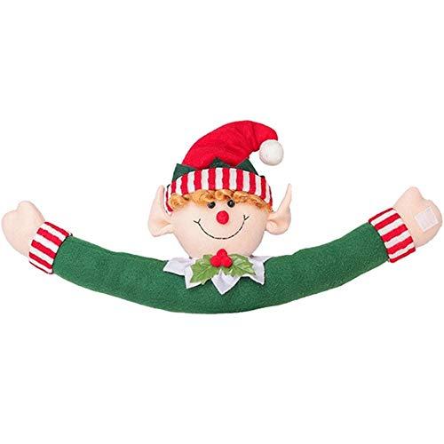 Père Noël Rideau Boucle Embrasse Rideau Retenues en Peluche Rideau Crochet Boucle pour Les Enfants À La Garderie Chambre Fenêtre Décorations