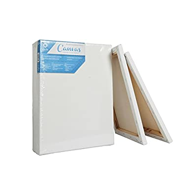 CONDA & Kiddycolor Artist Acid Free Stretched Canvas 16  X20  Pack of 5
