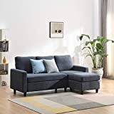 <span class='highlight'>Cherry</span> <span class='highlight'>Tree</span> <span class='highlight'>Furniture</span> Campbell 3-Seater Sofa with Reversible Chaise (Dark Grey)