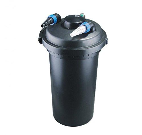 AquaOne CPF 500 Bio Teichfilter 30000l Druckteichfilter Druckfilter Bachlauf UVC Klärer Filter Teich Lampe Klar UV