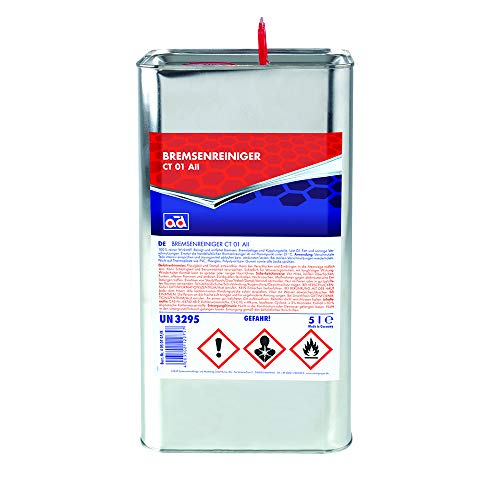 AD Chemie Bremsenreiniger Ct 01 All 5L Blech Kanister Bremsenreinigung Scheiben Trommel Scheibenbremse Trommelbremse 4050707K