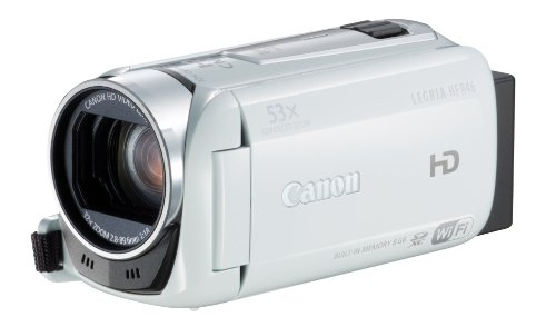 Canon Legria HF R46 - Videocámara Memoria Flash Integrada/Tarjeta Memoria 8 GB (Importado)
