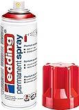 edding 5200 - Spray permanent - Rouge brillant - 200 ml - peinture à pulvériser acrylique pour peindre et décorer sur presque toutes les surfaces