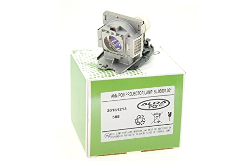 Alda PQ-Premium, Lámpara de proyector para BENQ MP623 Proyectores, lámpara con Carcasa