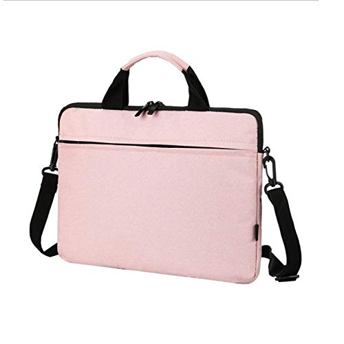 Practical Laptop Sleeve Case 14/15./15.6 Inch Notebook Travel Carrying Bag Waterproof Protective Cover For Macbook Air Pro 13 15 (Color : Pink, Size : 15.6/16 Inch)