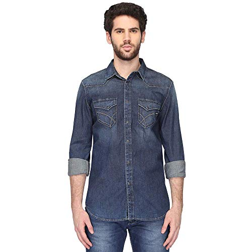Gas Camisa Kant WY64 150767010430WY64 vaquera oscuro L