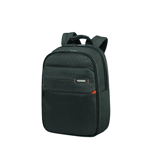 Samsonite Network 3 14 Pollici Zaino Porta PC, 40.5 cm, 16 L, Nero (Charcoal Black)