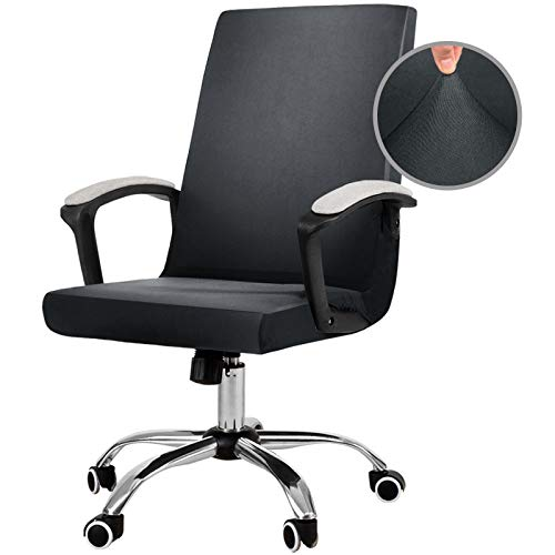JIATER Stretchable Office Chair Cover Computer Chair Slipcovers Universal Boss Chair Seat Covers...
