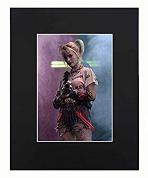 Harley Quinn Birds of Prey Sexy Dope Cool Hot Art Portrait Movie Art Artworks Print Picture Photograph Poster Decor Display Size with Matted 8x10