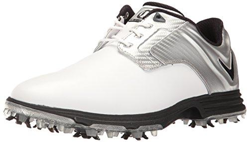 Callaway Men's Primero Golf Shoe, White/Silver, 9 D US