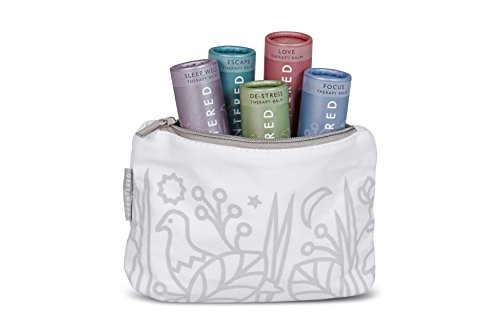 Scentered Ultimate Survival KIT Aromatherapy Balm Gift Set - Includes Sleep Well, De-Stress, Happy, Escape & Love