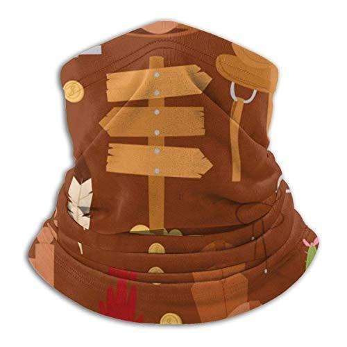 Niet van toepassing Wild West Cartoon Cowboy Hoofdband Gezicht Masker Bandana Hoofd Wikkel Sjaal Nek Warmer Hoofddeksels Balaclava Voor Sport