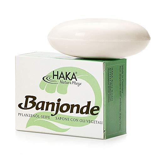 HAKA Banjonde Seife I 6 x 100 g I Handseife I Sanfte Reinigung I Für alle Hauttypen