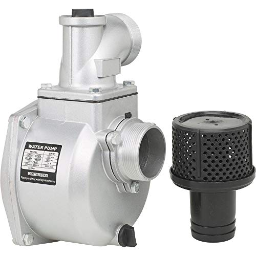Semi-Trash Water Pump ONLY - for Straight Keyed Shafts, 3in. Ports, 14,265 GPH