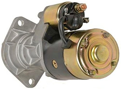 Rareelectrical STARTER MOTOR COMPATIBLE WITH YANMAR MARINE 3T95 3T95L 4LH 4LH-3TE4LHA LH-DTE LH-TE LH-THE