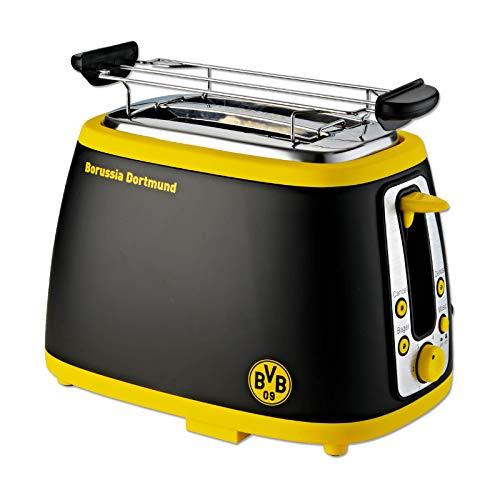 Borussia Dortmund Unisex Bvb-soundtoaster Toaster, Schwarz/gelb, Einheitsgröße