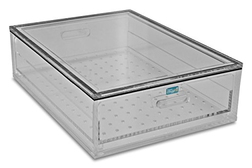 TrippNT 51398 Acrylic Portable Personal Desiccator, 17