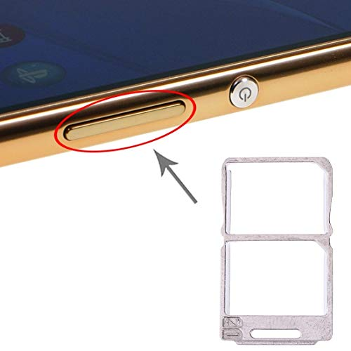 ZXH Parte de la reparación del teléfono La Bandeja de Tarjeta SIM Bandeja mingming Tarjeta SIM + for Sony Xperia M5