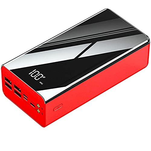 DNGDD Power Bank USB C 80000mah, [2.1A Carga rápida + 4 Salidas + 3 Entradas] Cargador portátil, Paquete de batería Externa con Power Banks Tipo C Compatible con i-Phone, S-amsung, An-Droid, etc,