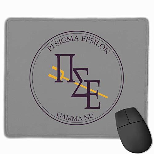 sfdgd Pi Sigma Epsilon Gaming-Mauspad, ultradicke, seidige, Glatte 9,8 x 11,8 Zoll