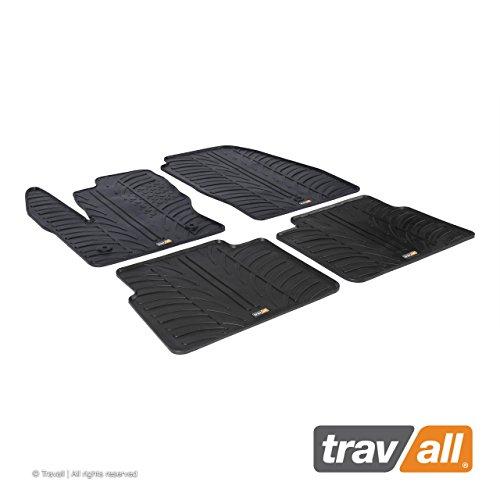 Travall Mats Gummifußmatten TRM1216 – Allwettermatten Nach Maß Fussmatten Set