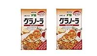 [三育フーズ] グラノーラ 400g(オーツ麦/小麦胚芽/ゴマ/アーモンド/クルミ/ハチミツ) ×2個