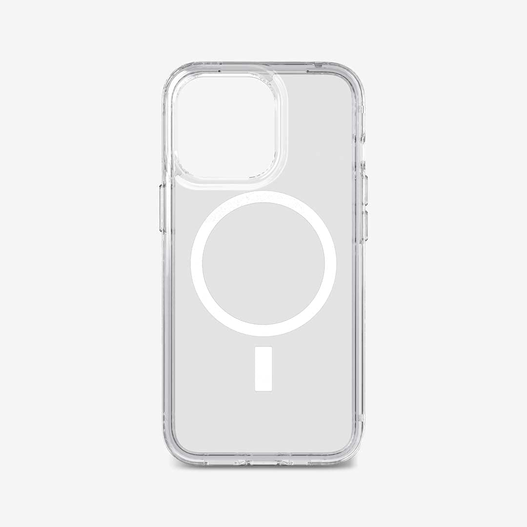 Tech21 Evo Clear (MagSafe) for iPhone 13 Pro - Transparent MagSafe Phone Case with 12ft Multi-Drop Protection