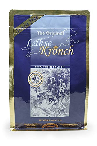 Lakse Kronch 'The Original I 3X 600g I 100% frischer Lachs I getreidefrei