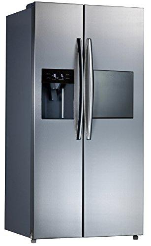Comfee SidebySide 502 NFA+ NA/A+/178.8 cm 408kWh/Jahr /339 L Kühlteil /163Gefrierteil/Total No Frost & Multi-Air Flow/Edelstahloptik Front